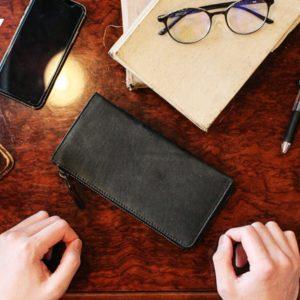 【クラウドファンディング -未来ショッピング】話題の長財布「TIDY」プロジェクト進行中!