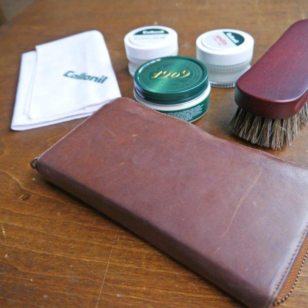 革製品を綺麗に長く使うためのクリームを使ったお手入れ方法