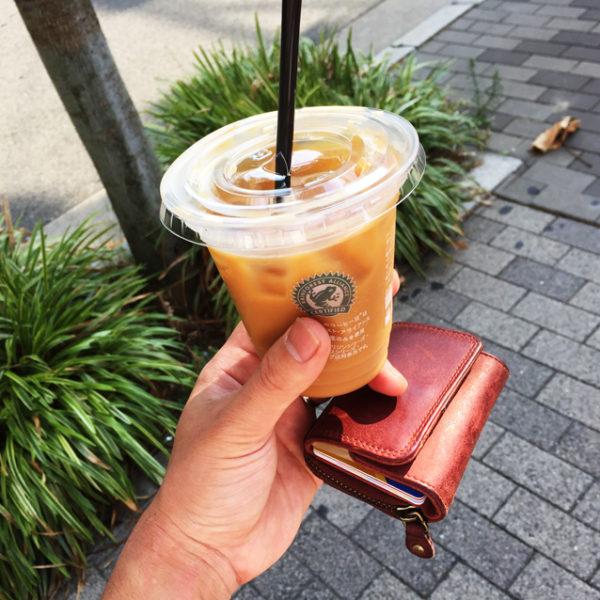 【革と暮らす】ミニ財布とコーヒー、時々つけ麺。 お昼ごはん編