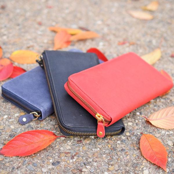 【商品紹介】2017AW*秋はカラーで遊ぶ。ハレルヤ秋色カラーのお財布とバッグをご紹介*